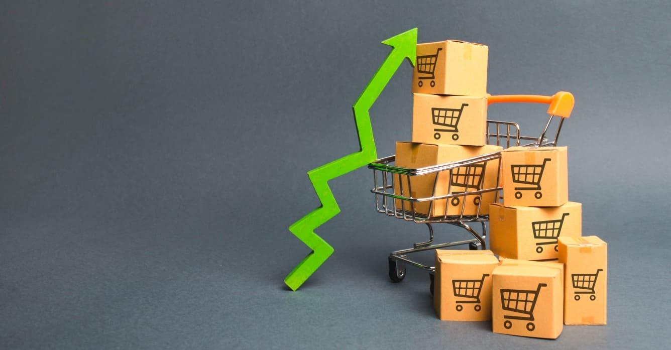 increase sales per customer and sales per item