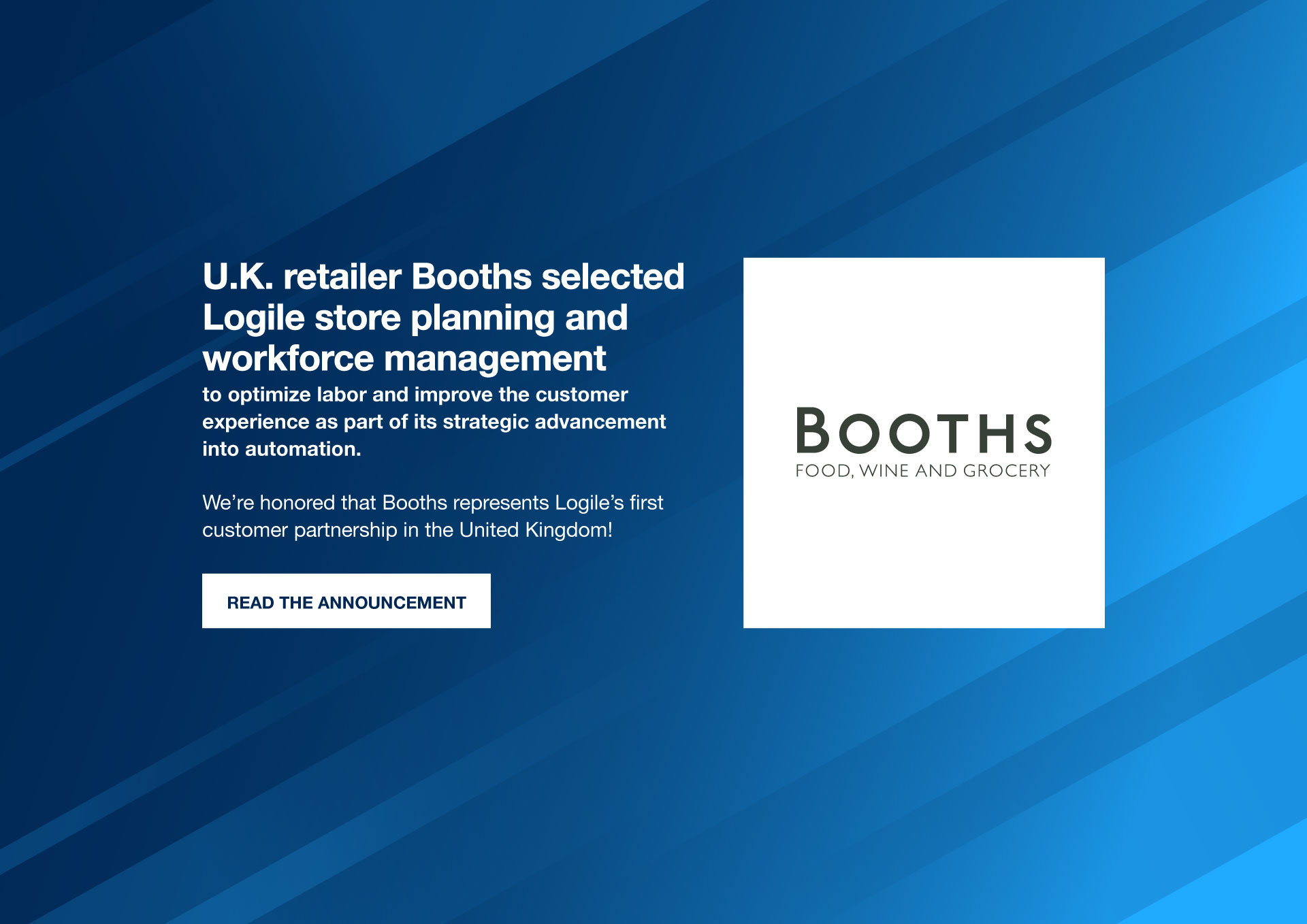 Logile Booths Press Release web banner