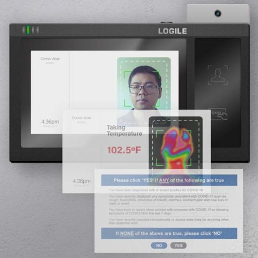 Logile Health and Temperature Scanner